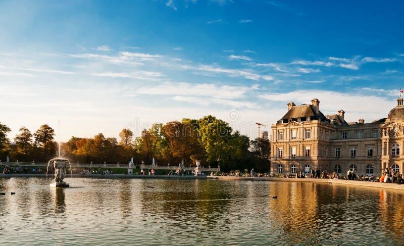 Jardin du Lussemburgo immagini stock libere da diritti