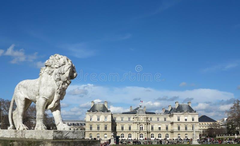 Jardin du Luxembourg arkivbild