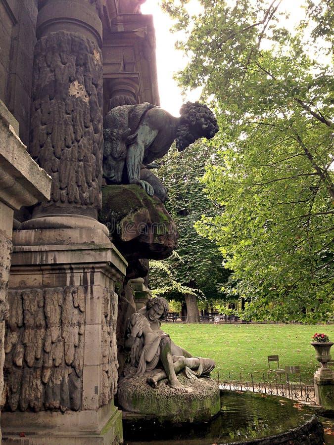 Jardin DU Luxemburg lizenzfreies stockbild