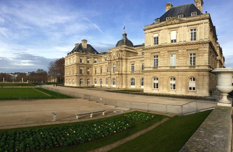 Jardin du Luxemburg stock foto