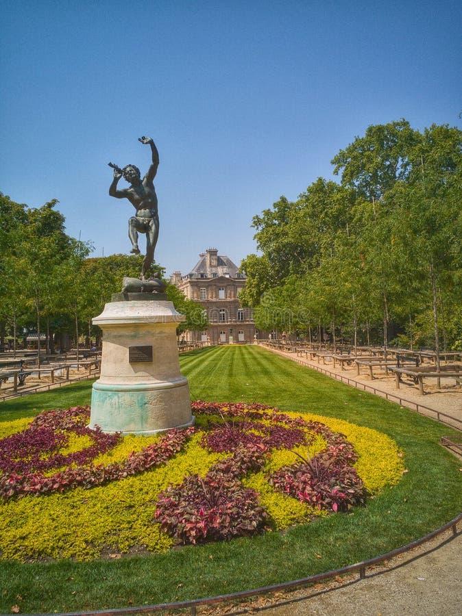 Jardin du Luxemburgo foto de archivo libre de regalías