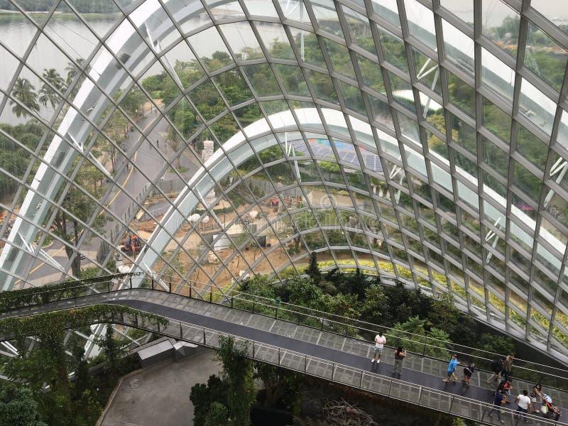 Jardin en verre de Chambre image stock