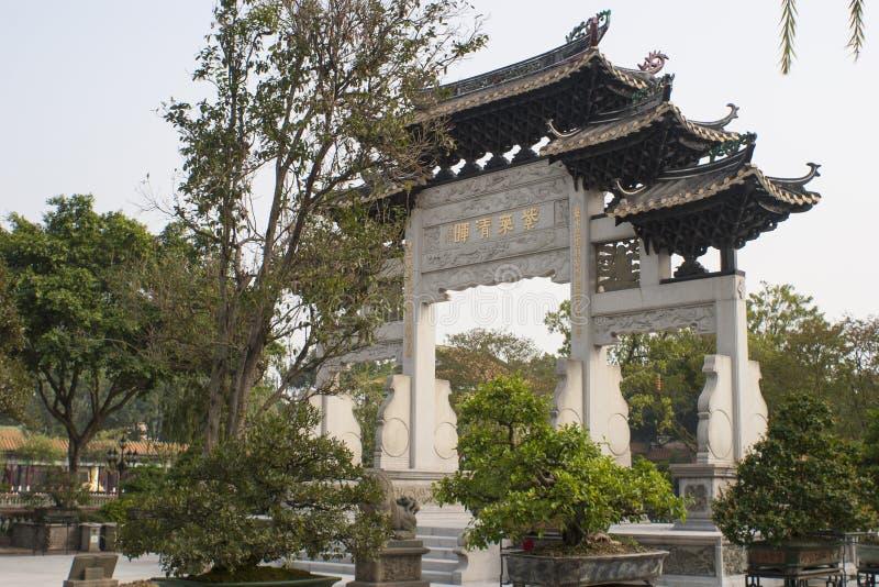 Jardin et torii de chinois traditionnel photos stock