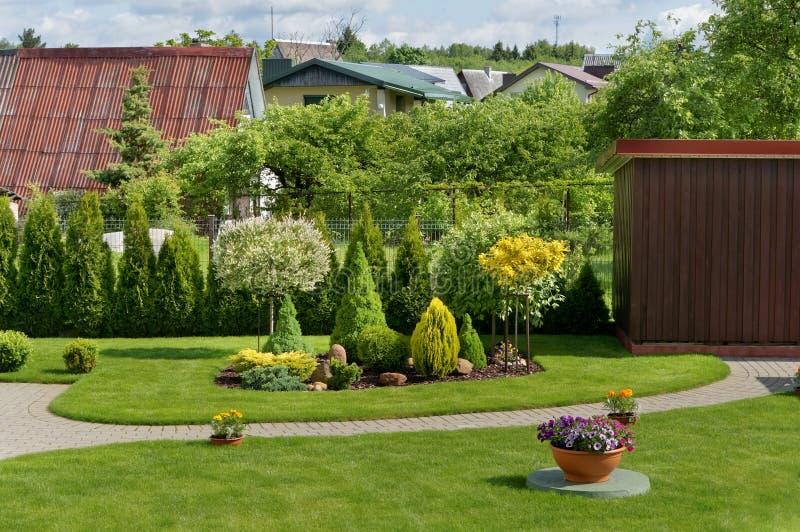 Jardin européen idéal photos stock