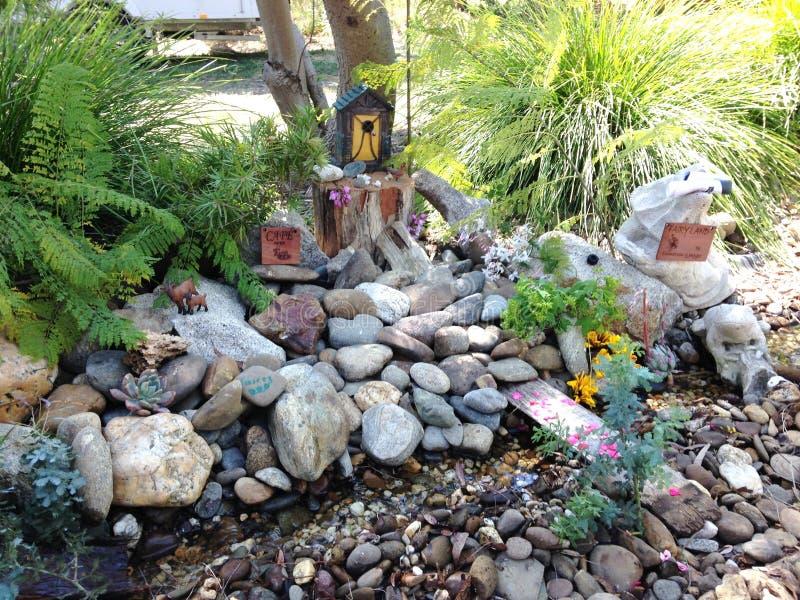 Jardin féerique photo libre de droits