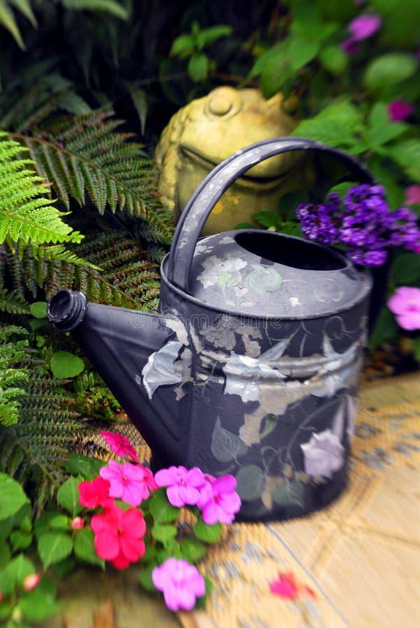 Jardin heureux 2 image libre de droits