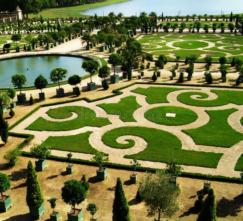 Jardin historique photo stock