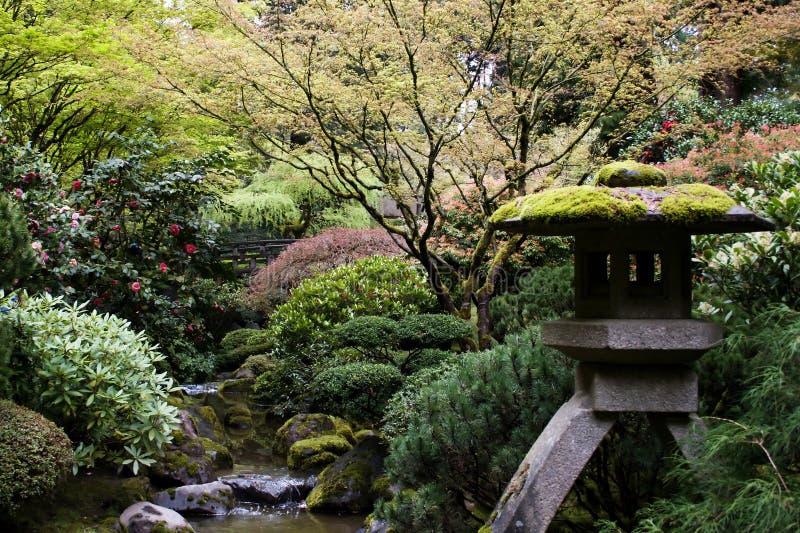 Jardin japonais photographie stock