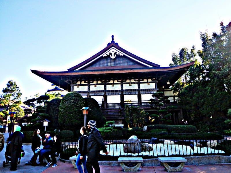Jardin japonais images libres de droits
