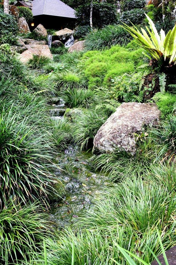 Jardin japonais dans Bukit Tinggi photos stock
