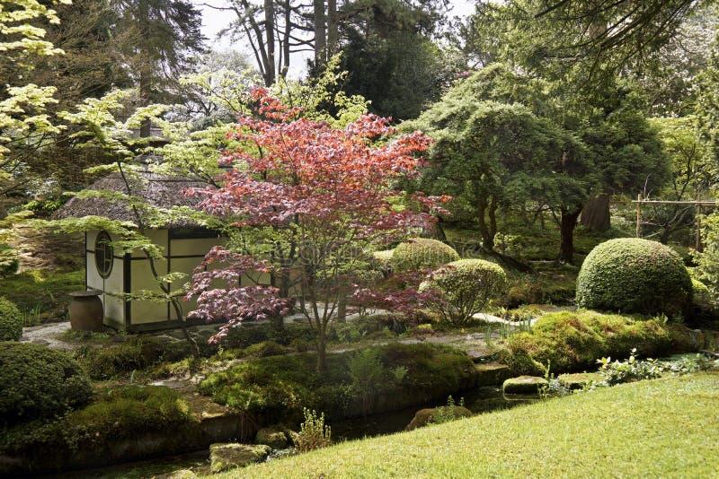 Jardin japonais en parc de Tatton photo stock