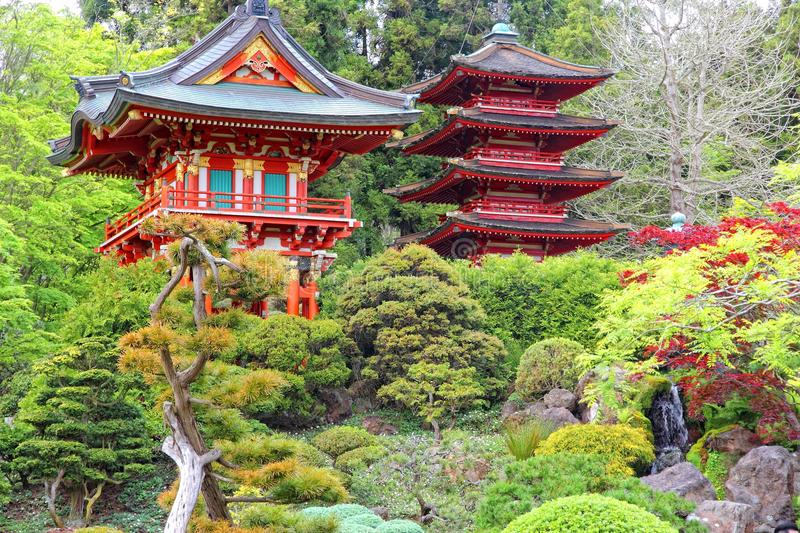 Jardin japonais, San Francisco photo stock
