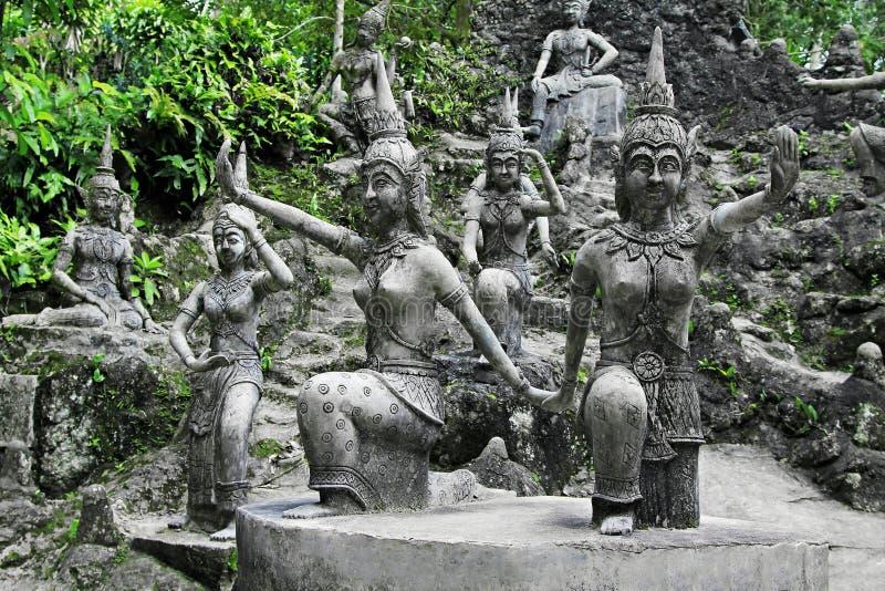 Jardin magique de Tanim Bouddha image stock