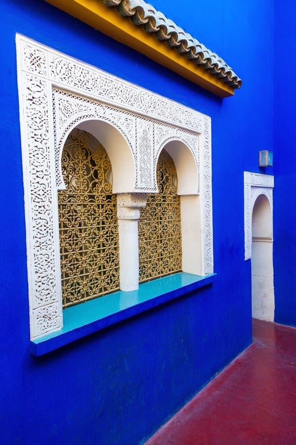Jardin Majorelle en Marrakesh imagen de archivo libre de regalías