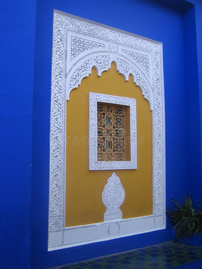 Jardin Majorelle royalty free stock images