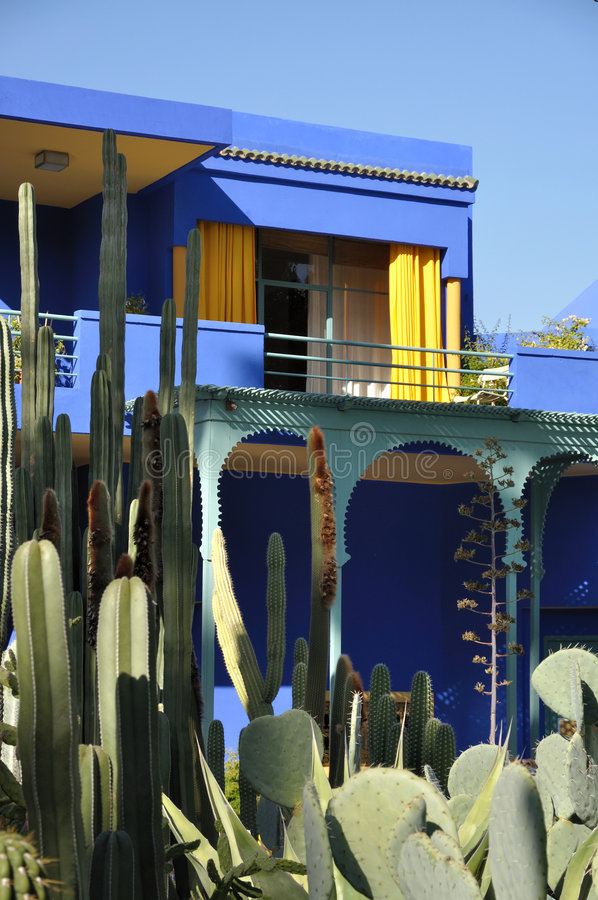 Jardin Majorelle, Marrakech stock photos