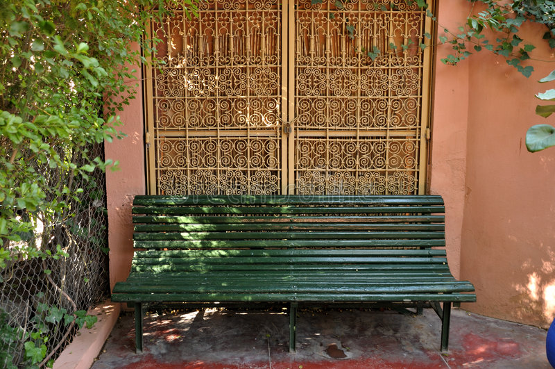 Jardin Majorelle, Marrakesh imágenes de archivo libres de regalías
