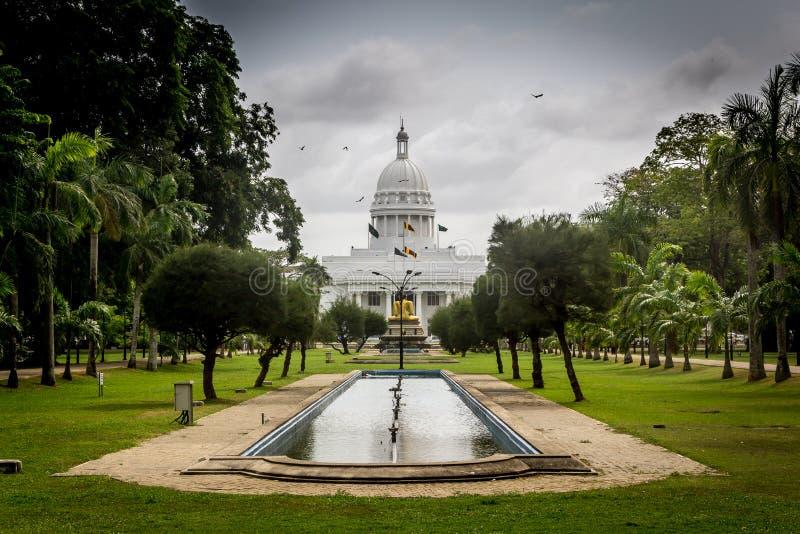 Jardin municipal à Colombo images stock