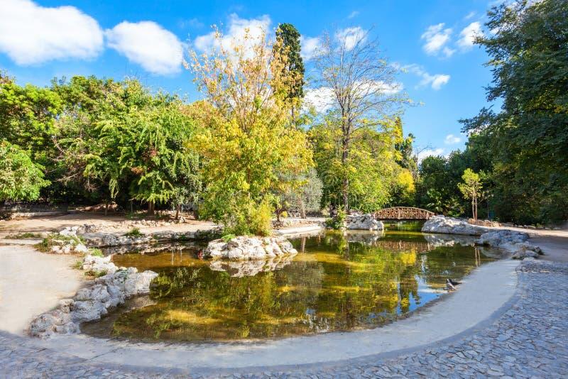 Jardin national à Athènes photos libres de droits