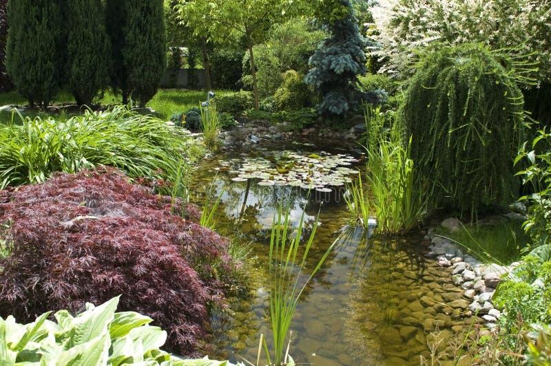 Jardin paisible image stock