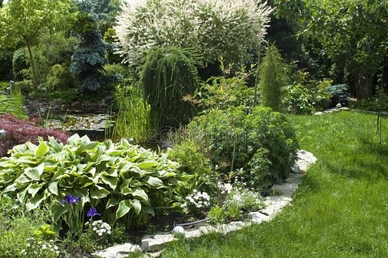 Jardin paisible photo libre de droits