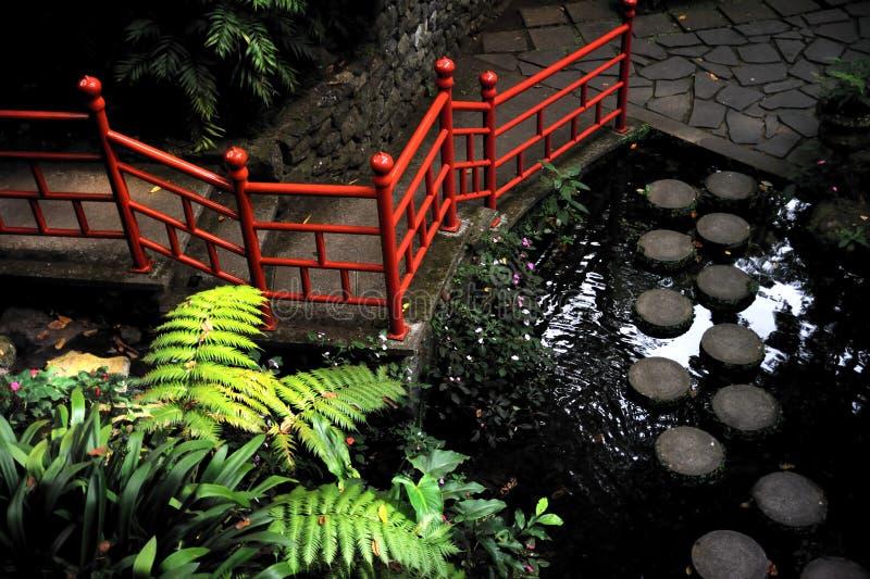 Jardin tropical de palais de Monte - Monte, Madère photo stock