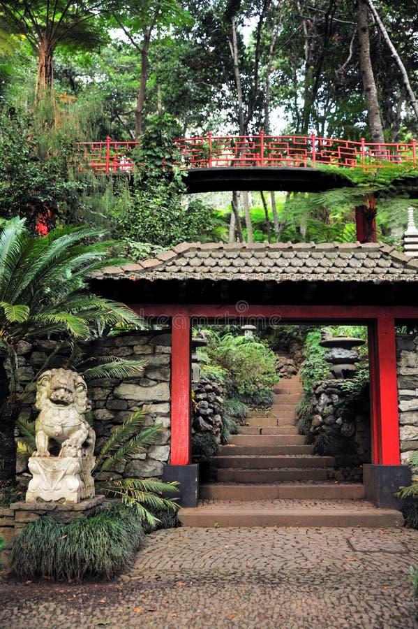 Jardin tropical de palais de Monte - Monte, Madère photos stock