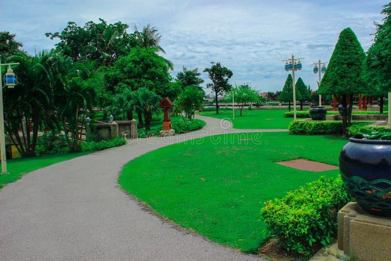 Jardin vert photos stock