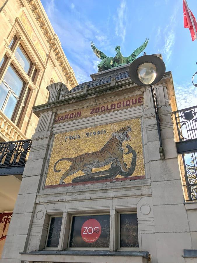 Jardin Zoologique, Anvers, Belgique images stock