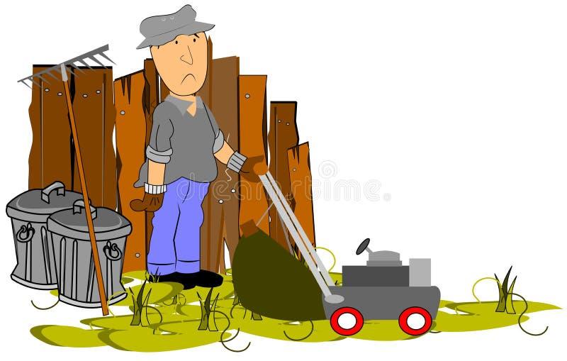 Jardinage illustration stock