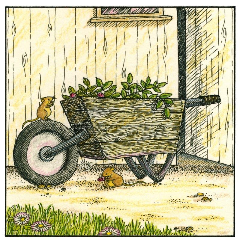 Jardinagem ilustração do vetor