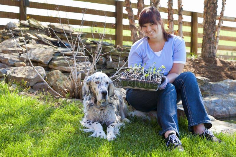 Jardineiro novo imagens de stock royalty free