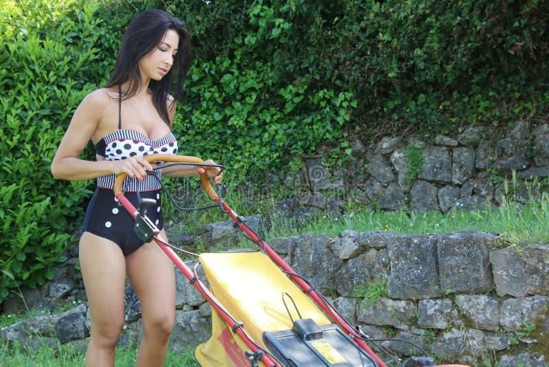 Jardineiro 'sexy' fotos de stock