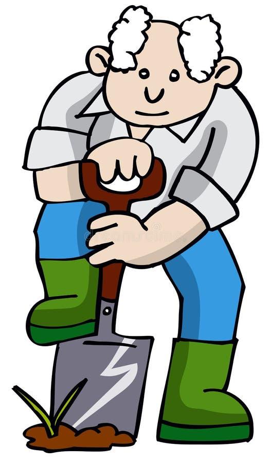 Jardinero ilustración del vector