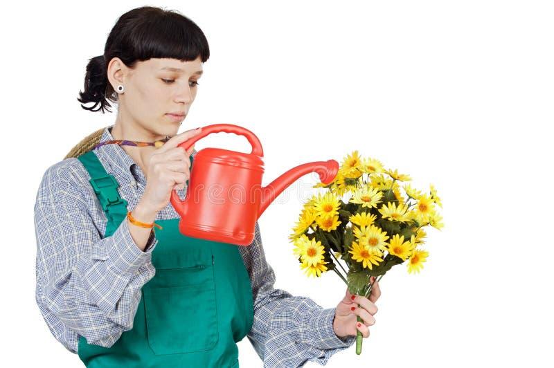 Jardinero de la señora fotos de archivo libres de regalías