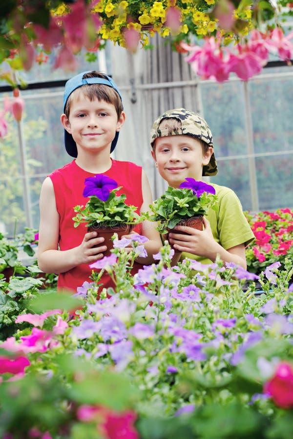 Jardineros fotografía de archivo libre de regalías