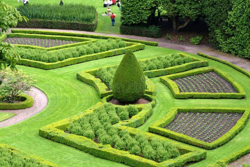 Jardines arquitectónicos Escocia fotos de archivo