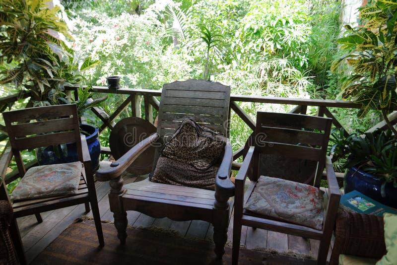 Jardines Barbados del ` s de Hunte imagen de archivo
