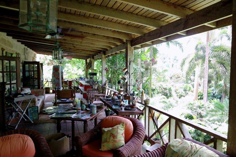 Jardines Barbados del ` s de Hunte imagenes de archivo