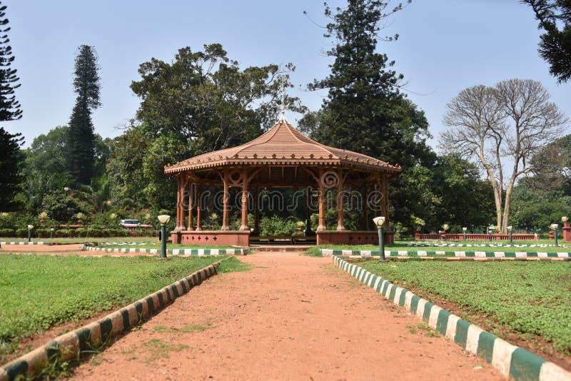 Jardines botánicos de Lalbagh, Bangalore, Karnataka foto de archivo libre de regalías