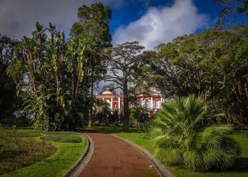Jardines botánicos municipales imagenes de archivo