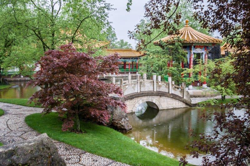 Jardines chinos Zurich imagen de archivo Imagen de jardines 36682993