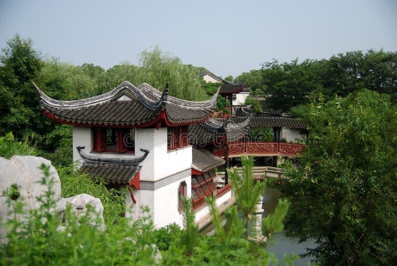 Jardines clásicos chinos foto de archivo libre de regalías