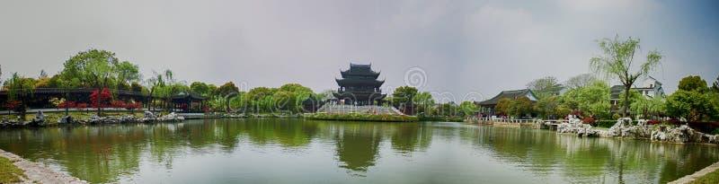 Jardines clásicos de Suzhou, viaje a China imagenes de archivo