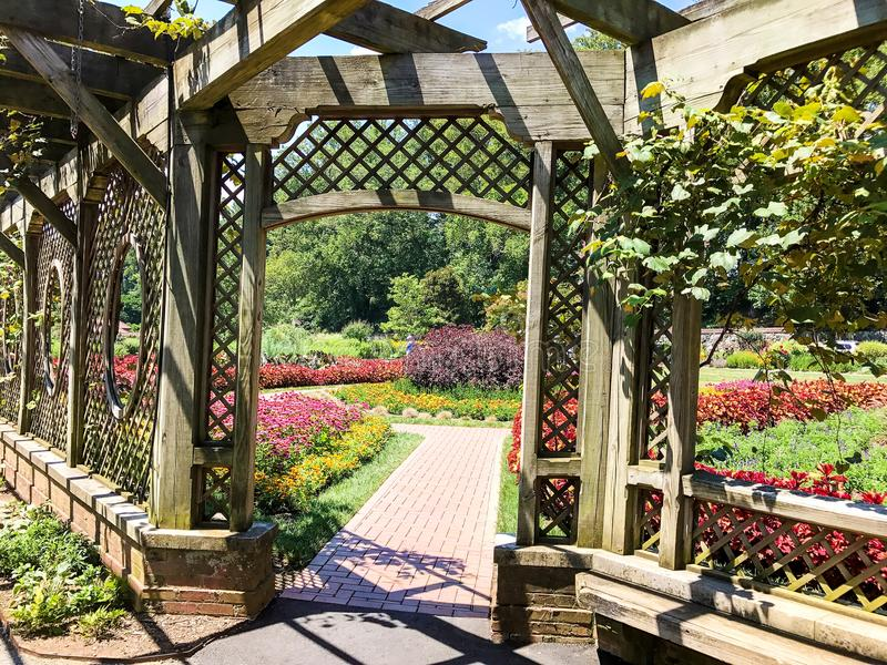 Jardines de Biltmore imagen de archivo