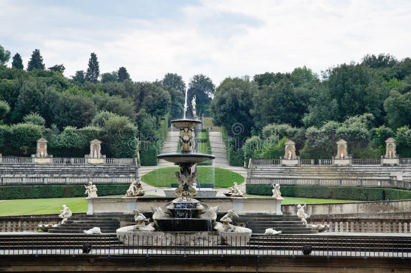 Jardines de Boboli, Florencia foto de archivo libre de regalías
