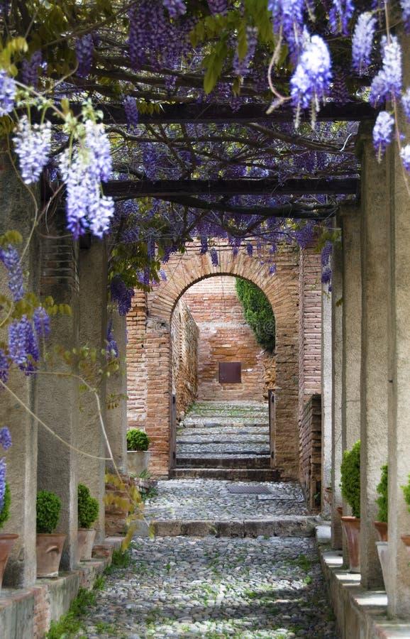 Jardines de Generalife imágenes de archivo libres de regalías