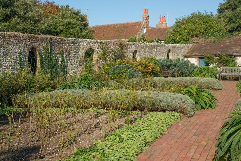 Jardines de Kipling en Rottingdean, Sussex, Inglaterra fotografía de archivo libre de regalías