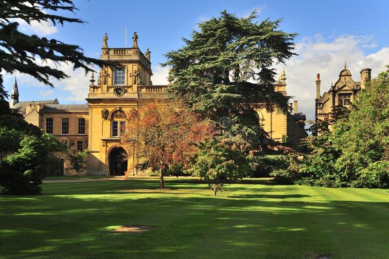 Jardines de la universidad de la trinidad, Oxford imagen de archivo libre de regalías