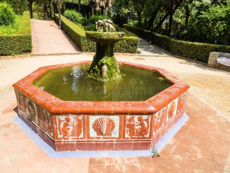Jardines de Laribal imagenes de archivo